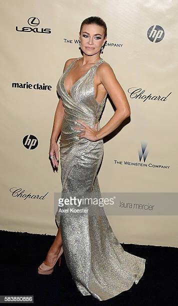 Carmen Electra at The Weinstein Company 2013 Golden Globes After Party at The Old Trader Vic's at the Beverly Hilton Hotel in Beverly Hills Sunday...