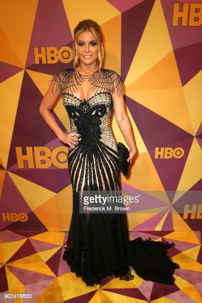 Carmen Electra attends HBO's Official Golden Globe Awards After Party at Circa 55 Restaurant on January 7 2018 in Los Angeles California