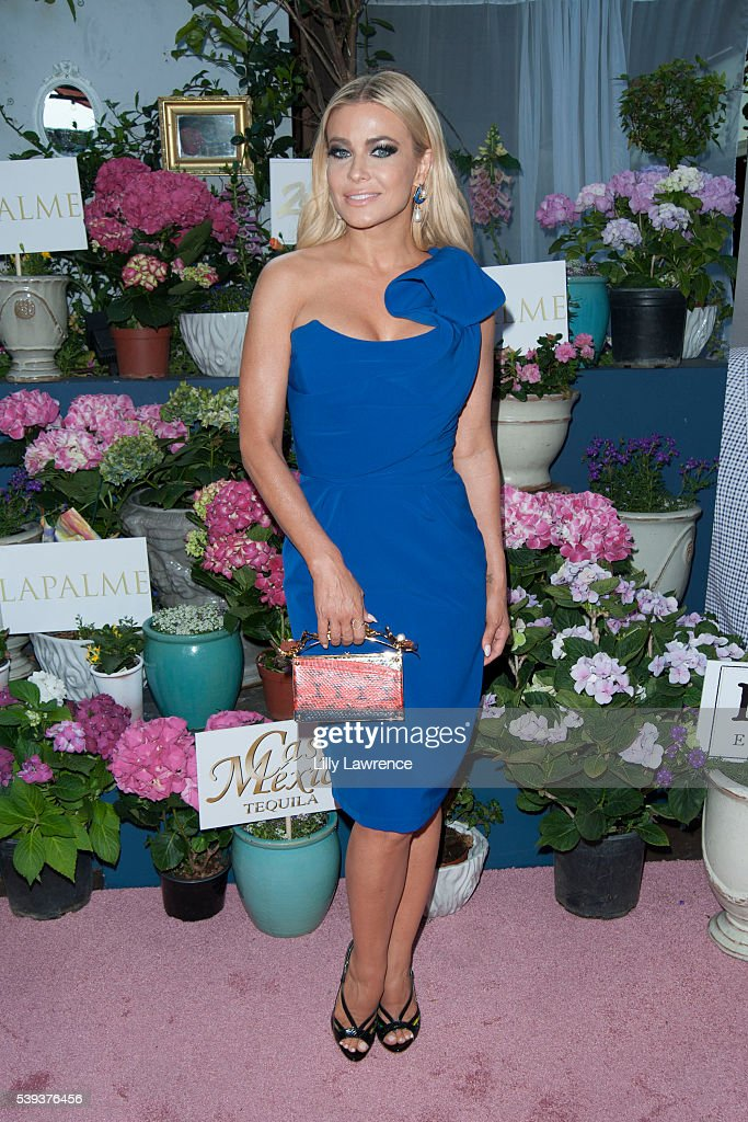 Carmen Electra attends LaPalme Magazine's summer issue party at Sofitel Hotel on June 10, 2016 in Los Angeles, California.
