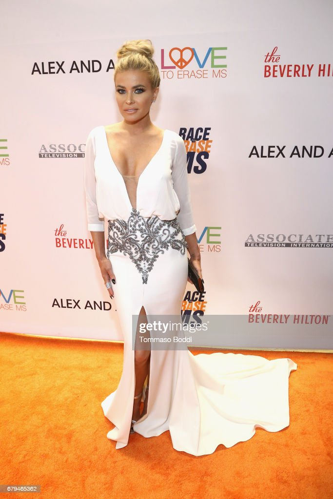 Carmen Electra attends the 24th Annual Race To Erase MS Gala at The Beverly Hilton Hotel on May 5, 2017 in Beverly Hills, California.
