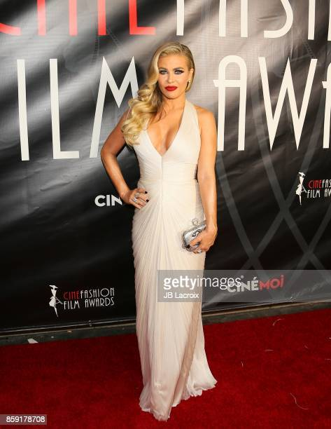 Carmen Electra attends the 4th Annual CineFashion Film Awards on October 08 2017 in Los Angeles California