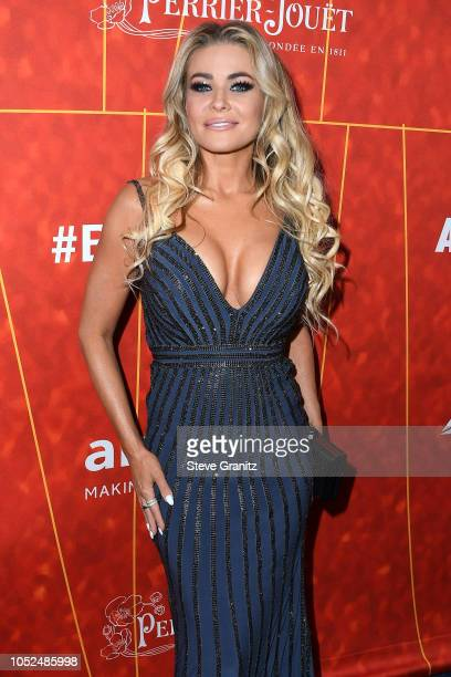 Carmen Electra attends the amfAR Gala Los Angeles 2018 at Wallis Annenberg Center for the Performing Arts on October 18, 2018 in Beverly Hills,...