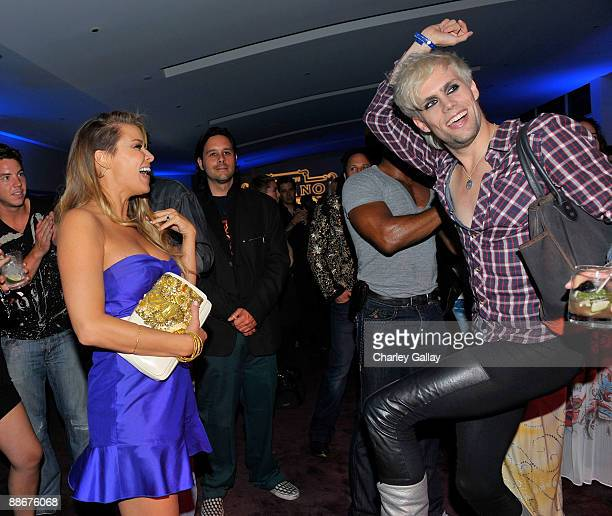 Carmen Electra attends the Jose Cuervo Platino Penthouse with 944 Magazine at Andaz Hotel on June 24 2009 in West Hollywood California