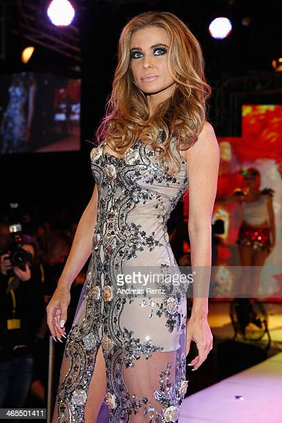 Carmen Electra attends the Lambertz Monday Night at Alter Wartesaal on January 27, 2014 in Cologne, Germany.