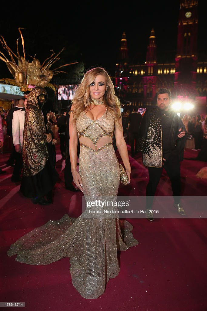 Carmen Electra attends the Life Ball 2015 at City Hall on May 16, 2015 in Vienna, Austria.