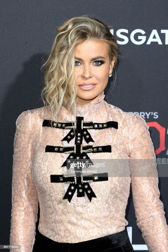 Carmen Electra attends the Premiere Of Lionsgate's 'Tyler Perry's Boo 2! A Madea Halloween' at Regal LA Live Stadium 14 on October 16, 2017 in Los Angeles, California.