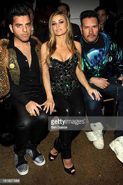 Carmen Electra attends the The Blonds fall 2013 fashion show during MADE Fashion Week at Milk Studios on February 12 2013 in New York City