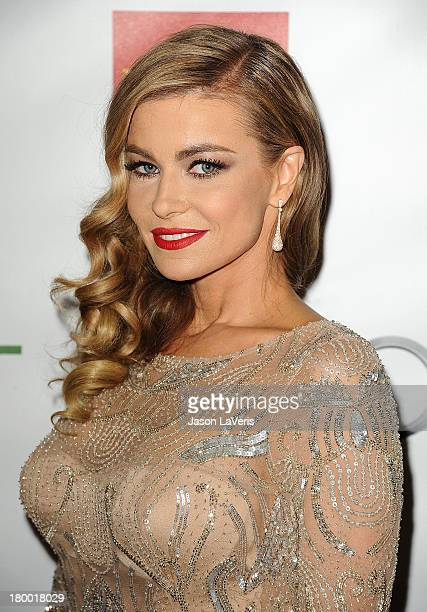 Carmen Electra attends the Voices On Point musical gala to benefit the Point Foundation at the Hyatt Regency Century Plaza on September 7, 2013 in...