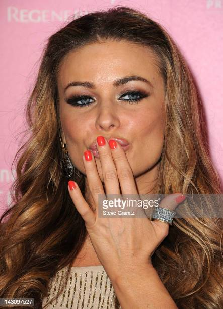 Carmen Electra attends Us Weekly's Hot Hollywood 2012 Style Issue Event at Greystone Manor Supperclub on April 18 2012 in West Hollywood California