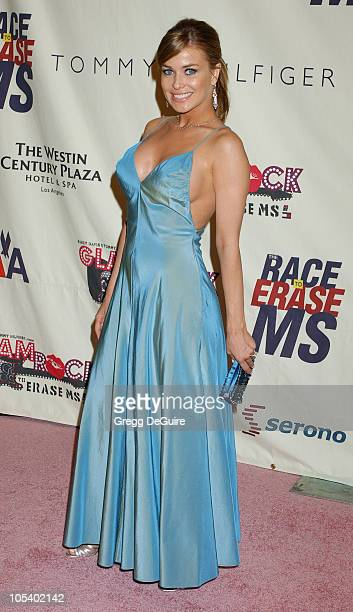 Carmen Electra during 11th Annual Race To Erase MS Gala Arrivals at The Westin Century Plaza Hotel in Los Angeles California United States