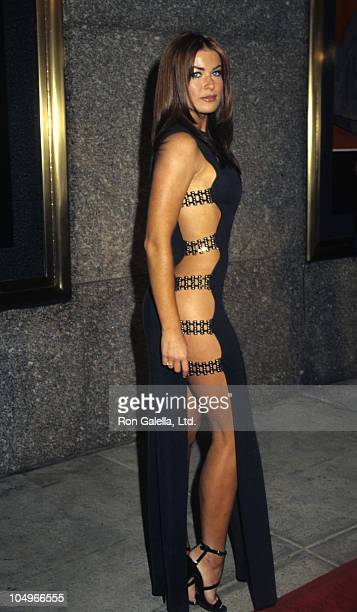 Carmen Electra during 1997 MTV Video Music Awards at Radio City Music Hall in New York City, New York, United States.