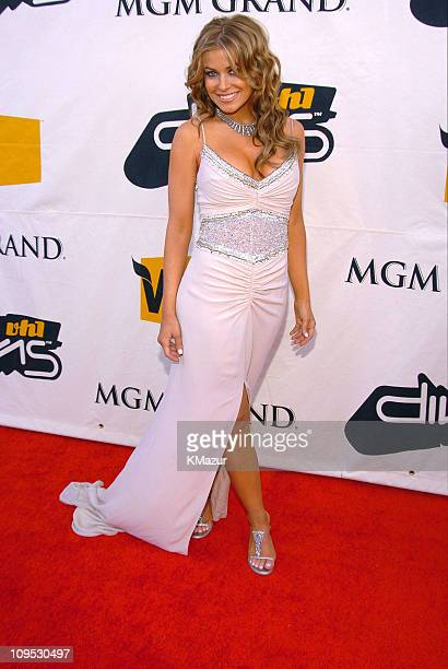 Carmen Electra during 2004 VH1 Divas Benefitting The Save The Music Foundation Red Carpet at The MGM Grand in Las Vegas Nevada United States