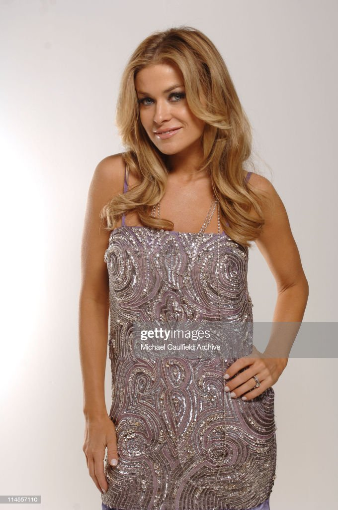 Carmen Electra during 2005 Billboard Music Awards - Red Carpet Portraits at MGM Grand in Las Vegas, Nevada, United States.
