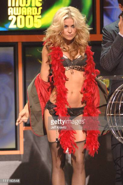 Carmen Electra during 2005 World Music Awards Show at Kodak Theater in Hollywood California United States