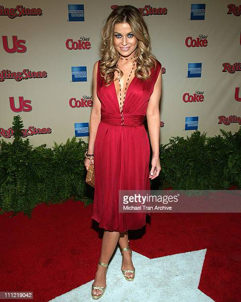 Carmen Electra during 2006 Us Magazine and Rolling Stone Rock the Oscars After Party Arrivals at Wolfgang Puck at the Pacific Design Center in West...