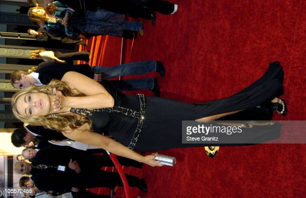 Carmen Electra during 32nd Annual American Music Awards Arrivals at Shrine Auditorium in Los Angeles California United States