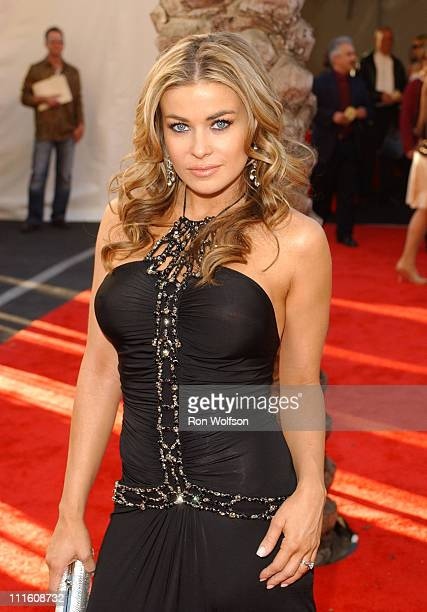 Carmen Electra during 32nd Annual American Music Awards Red Carpet at Shrine Auditorium in Los Angeles California United States