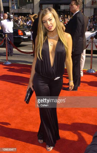 Carmen Electra during 4th Annual BET Awards Red Carpet at Kodak Theatre in Hollywood California United States