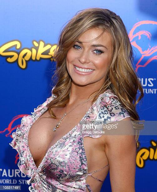 Carmen Electra during 4th Annual Taurus World Stunt Awards Arrivals at Paramount Studios in Los Angeles California United States