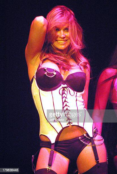 Carmen Electra during Camp Freddy Benefit Concert for South East Asia Tsunami Relief at Key Club in Hollywood California United States