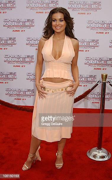 """Carmen Electra during """"Charlie's Angels 2 - Full Throttle"""" Premiere at Mann's Chinese Theater in Hollywood, California, United States."""