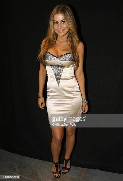 Carmen Electra during First Annual Spike TV's Guys Choice - Backstage and Audience at Radford Studios in Los Angeles, California, United States.
