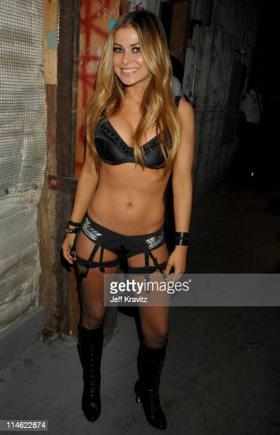 Carmen Electra during First Annual Spike TV's Guys Choice Backstage and Audience at Radford Studios in Los Angeles California United States