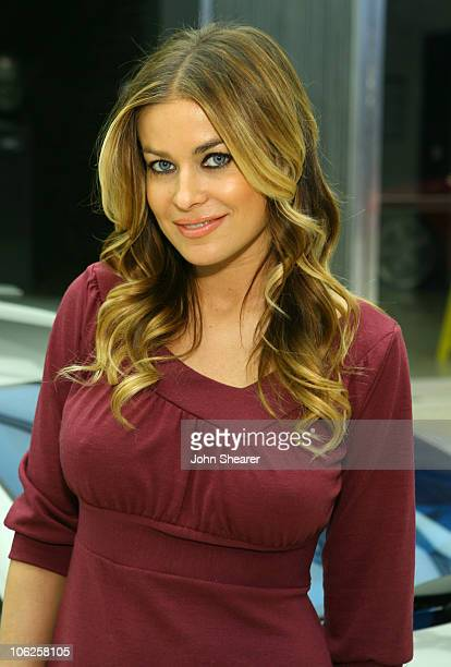 Carmen Electra during GM Style Celebrity Fittings at GM Design Center at Color Studio at GM Design Center in Detroit Michigan United States