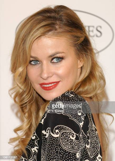 Carmen Electra during Ken Paves Opens His Beverly Hills Salon Hosted By Jessica Simpson and Eva Longoria Arrivals at Ken Paves Salon in Beverly Hills...