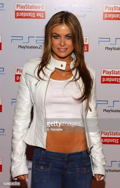 Carmen Electra during Playstation 2 Party at The Standard Downtown Los Angeles at The Standard in Los Angeles California United States