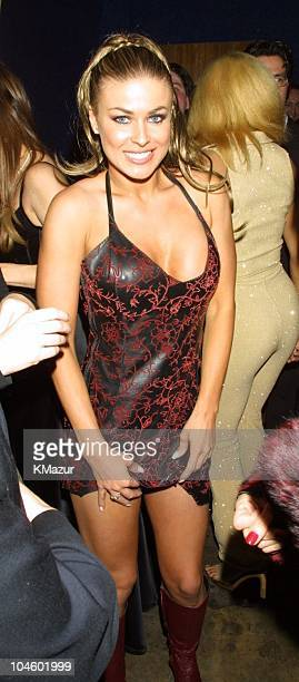 Carmen Electra during The 28th Annual American Music Awards Columbia Records After Party at Las Palmas in Hollywood California United States
