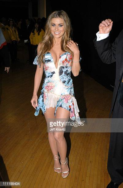 Carmen Electra during The 30th Annual American Music Awards Backstage Party at Shrine Auditorium in Los Angeles California United States