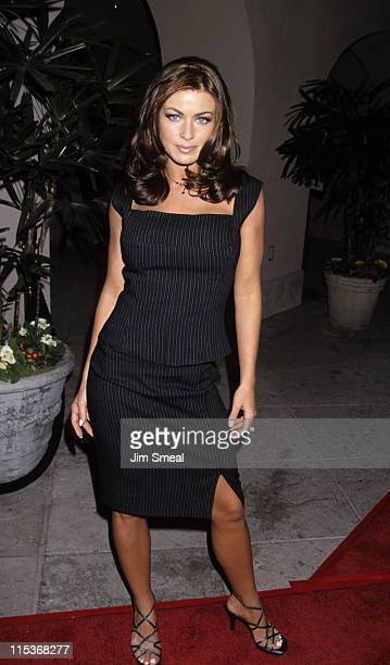 Carmen Electra during The WB's All Star Party for the Winter TCA Press Tour at Il Fornaio Restaurant in Pasadena, California, United States.