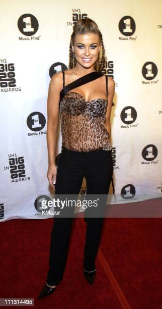 Carmen Electra during VH1 Big in 2002 Awards Arrivals at The Grand Olympic Auditorium in Los Angeles California United States