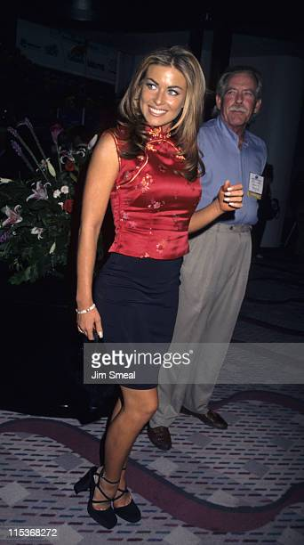 Carmen Electra during Video Software Dealers Association 1997 Convention at Las Vegas Convention Center in Las Vegas Nevada United States