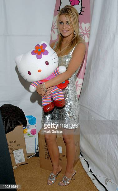 Carmen Electra in My Scene Fab Faces Dolls Celebrity Retreat Produced by Backstage Creations at the 2006 Teen Choice Awards
