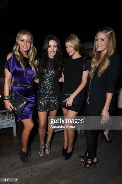 Carmen Electra Jenna Dewan Lo Bosworth and Lauren Conrad all wearing Alice and Olivia at a special event for Alice and Olivia by Stacey Bendet hosted...