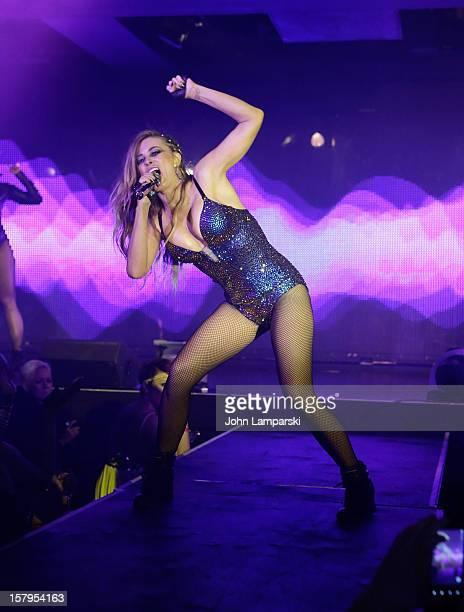 Carmen Electra performs at Mike Ruiz' Birthday Gala at XL Nightclub on December 7 2012 in New York City