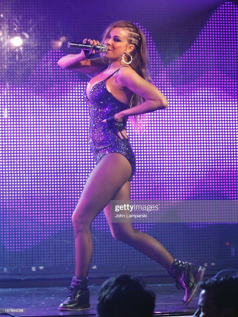 Carmen Electra performs at Mike Ruiz' Birthday Gala at XL Nightclub on December 7, 2012 in New York City.