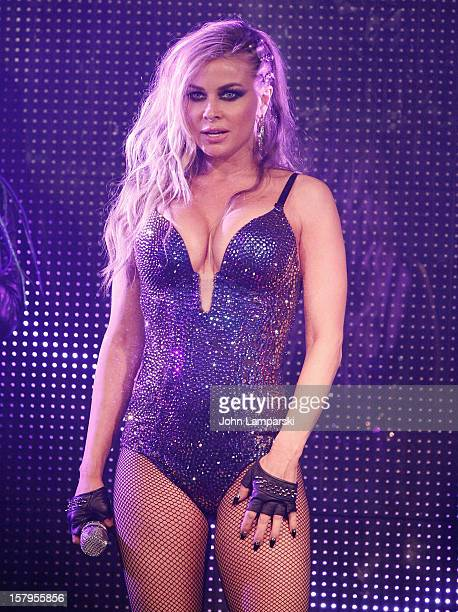 Carmen Electra performs at Mike Ruiz' Birthday Gala at XL Nightclub on December 7 2012 in New York City