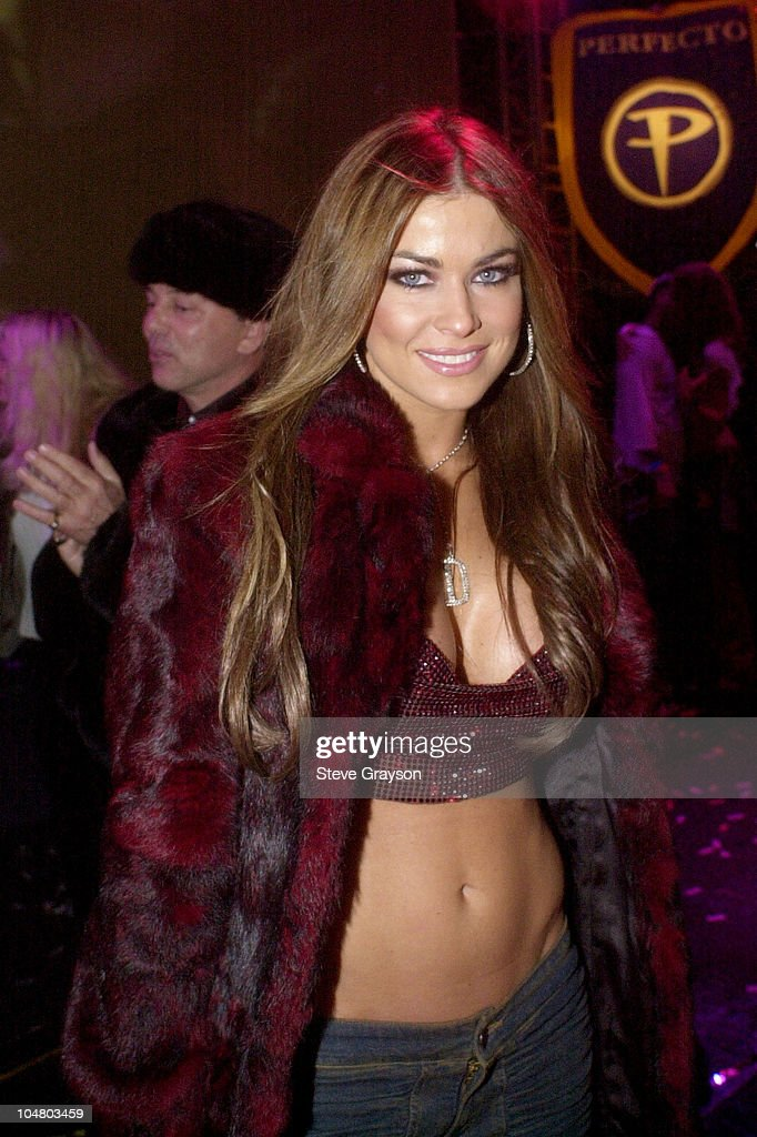 Carmen Electra and Spundae Celebrate New Years Eve on Hollywood Blvd