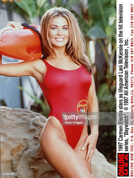 "Carmen Electra Stars As Lifeguard Lani Mckensie On The Hit Television Series, ""Baywatch."""