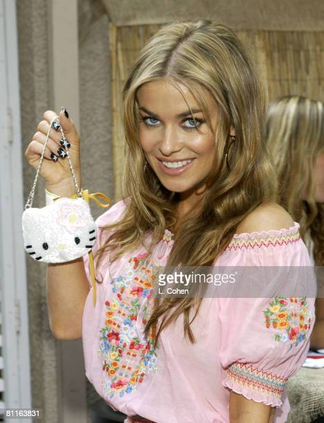 Carmen Electra visits Hello Kitty at the Backstage Creations Talent Retreat
