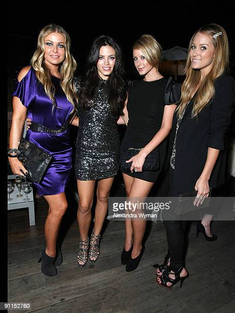 Carmen Elextra Jenna Dewan Lo Bosworth and Lauren Conrad all wearing Alice and Olivia at a special event for Alice and Olivia by Stacey Bendet hosted...