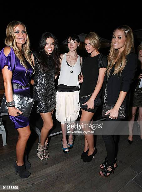 Carmen Elextra Jenna Dewan Stacey Bendet Lo Bosworth and Lauren Conrad all wearing Alice and Olivia at a special event for Alice and Olivia by Stacey...