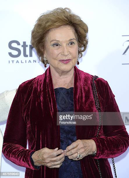 Carmen Franco attends the 'Hubert de Givenchy' exhibition opening cocktail at the ThyssenBornemisza Museum on October 20 2014 in Madrid Spain
