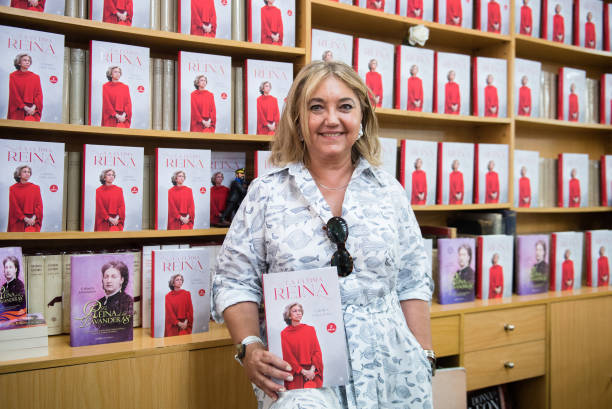 ESP: Carmen Gallardo Presents Her New Book In Madrid