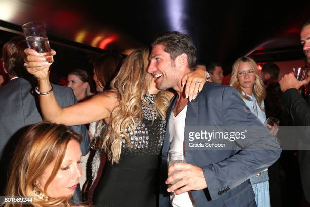 MUNICH GERMANY JUNE 26 Carmen Geiss and Christian Polanc during the Movie meets Media Party during the Munich Film Festival on June 26 2017 in Munich...