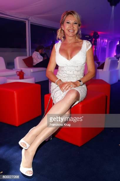 Carmen Geiss attends the 'Bertelsmann Summer Party' at Bertelsmann Repraesentanz on June 22 2017 in Berlin Germany