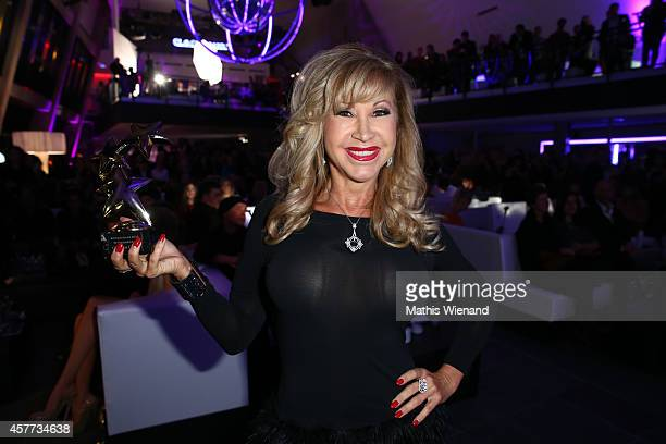 Carmen Geiss attends the InTouch Awards 2014 at Port Seven on October 23 2014 in Duesseldorf Germany